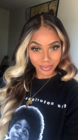 This wig is an affordable wig I styled, I call it my Beyoncé wig! This wig is under $50 and very easy to style!
