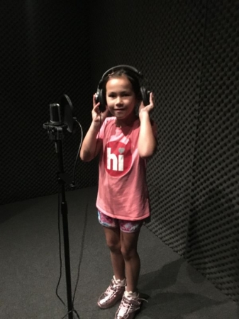 Hearing your voice for the first time in a recording studio is an unforgettable experience of a lifetime!