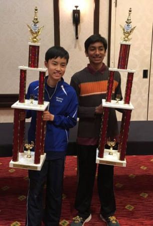 1st Place in K-8 National Championship
