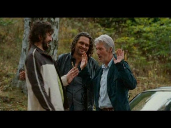 With Richard Gere in The Hunting Party