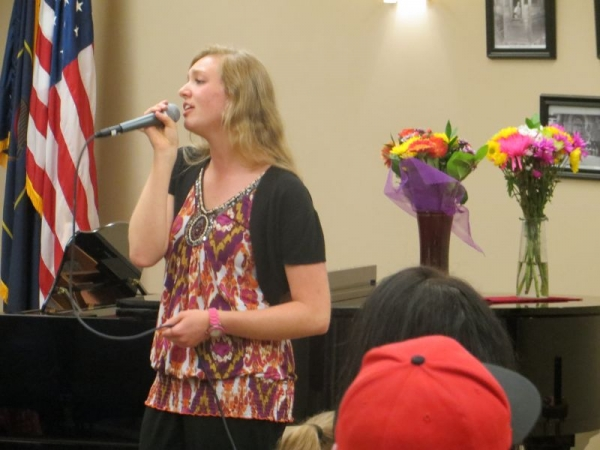 I sang jazz, classical, pop, country, and rock in my high school senior recital.