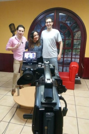 It was also fun doing a TV interview while I was in Mexico!