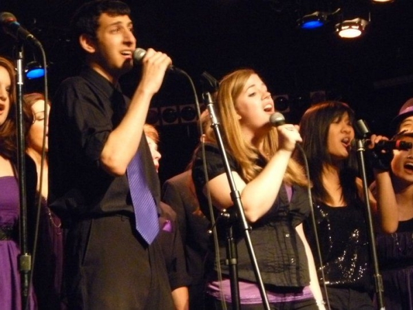 I've always enjoyed singing in a cappella groups!