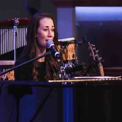 Sharing one of my original songs at a recent event 1.14.20