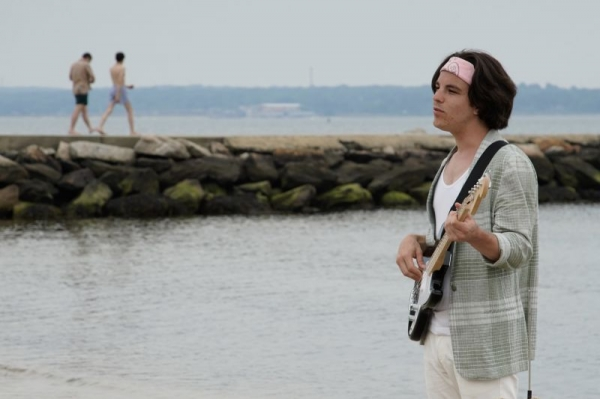 Filming a music video with my band Fish House!