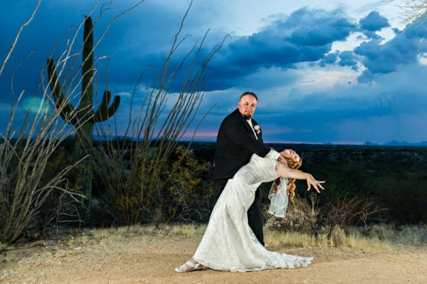 the Dip comes in handy for more than just your wedding dance; it also makes for great photo opportunities