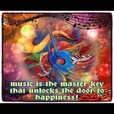 Music brings a lifetime of pleasure !