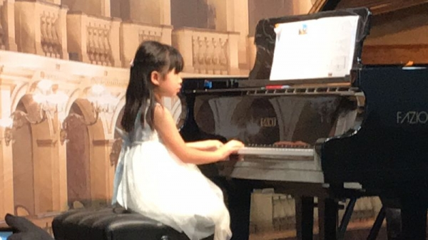 Student piano recital