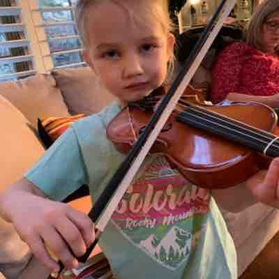 One of my youngest violinist