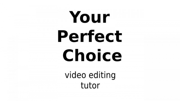 Musab Shakeel Your Perfect Choice For Career Building As A Video Editor