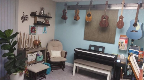 My newest studio located in Music House.