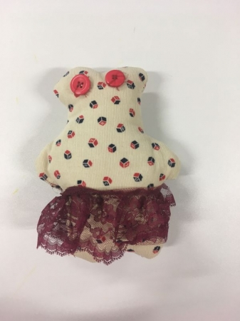 Teddy bear made by my 5th grader student