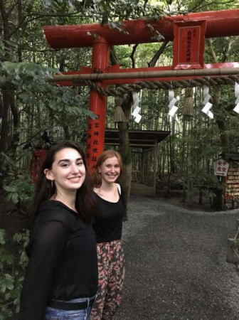 Traveling through Japan translating and interpreting for my friend visiting from Germany.
