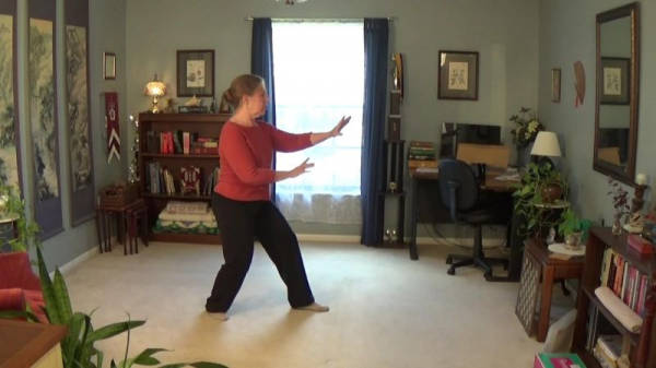 Three Points Stance from Xingyiquan