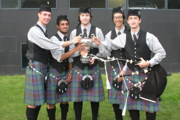 St. Thomas Alumni Pipe Band 4th place World Championships 2011, Glasgow, Scotland