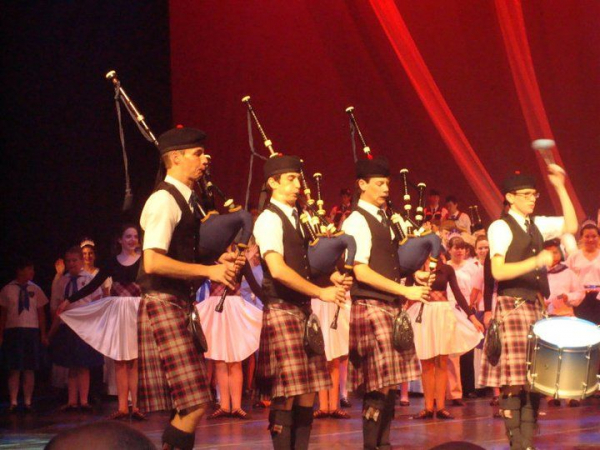 Senior Number, Class of 2011, Sounds of Scotland, Houston TX Wortham Center