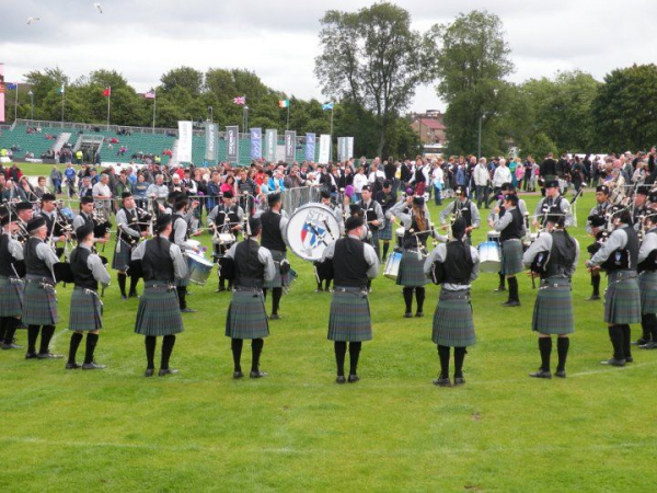 St. Thomas Alumni Pipe Band, World Pipe Band Championships, Glasgow Green, 2011
