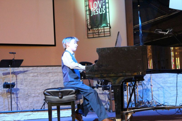 Winter recital: Ty played so emotionally...