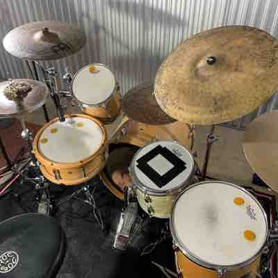 Drum set for lessons, also many different setups available.