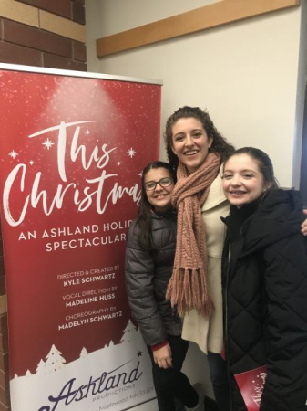 Vocal direction of This Christmas at Ashland Productions, Winter 2019