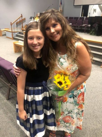 Myself and Ava just after the piano recital