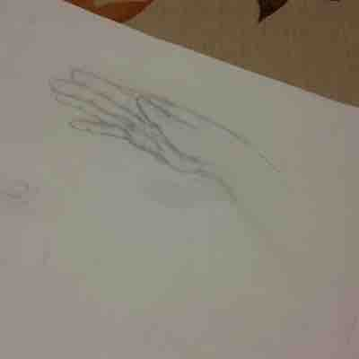 Hands are a fun project fun if you're trying to perfect your hand drawings.