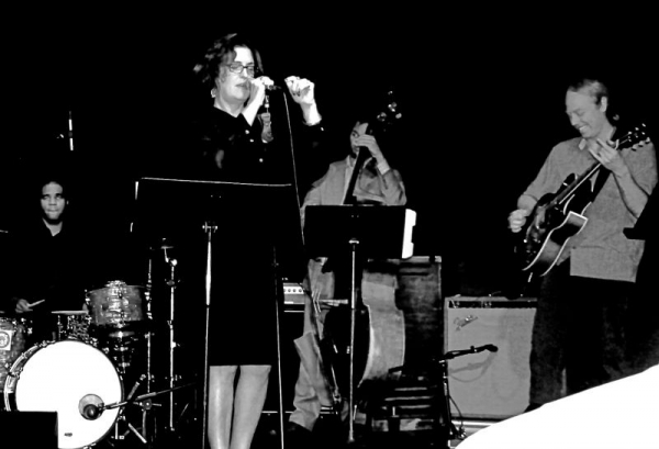 Singing with Andy Coe, D'Vonne Lewis and Evan Flory-Barnes at the Royal Room in Seattle