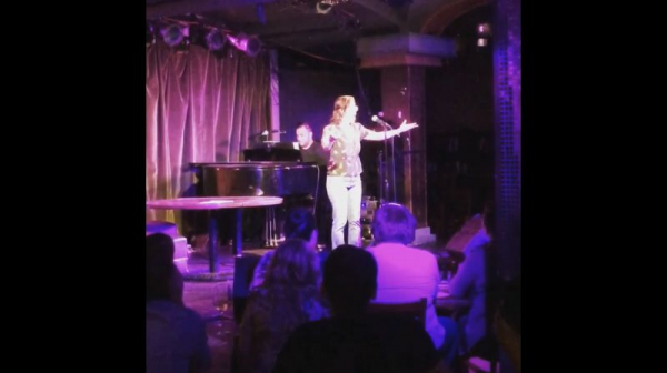 Becca at Rockwell Table and Stage in LA.