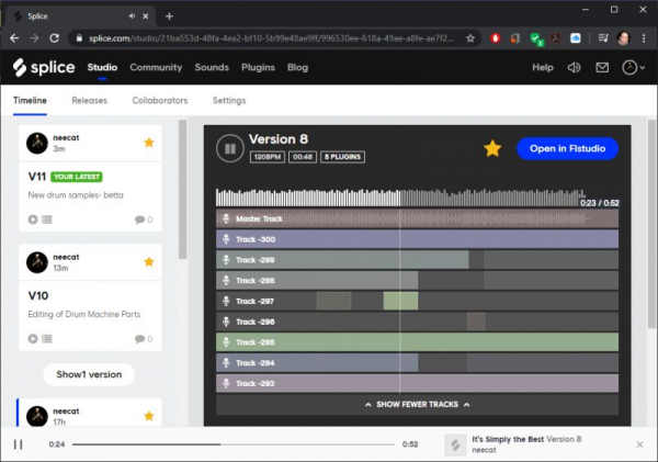 Learn versioning in the cloud and how to collaborate online with producers!