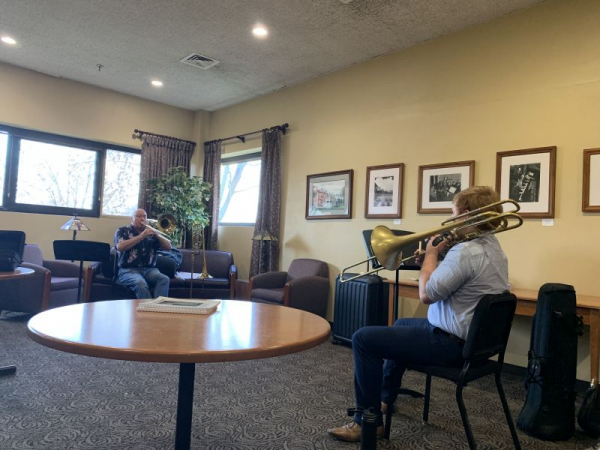 In a lesson with Bass Trombone of the Chicago Symphony Orchestra, Charlie Vernon