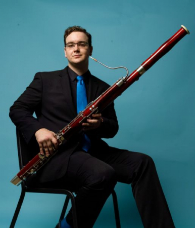 Carl Gardner; Co-Principal Bassoonist of The Orchestra Now