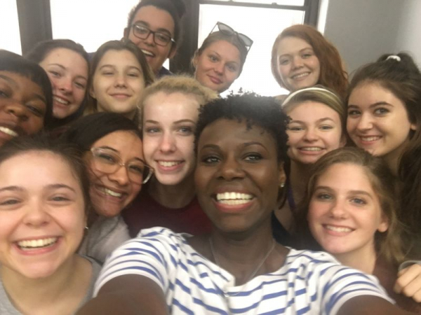 My first group of students at NYCDA after a successful month intensive.