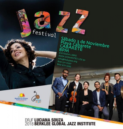 Teaching and Playing at the Dominican Republic Jazz Festival in 2018