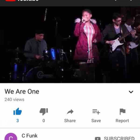 Check out my YouTube channel with some of the great groups I directed in Somerville!  ( tags - C Funk - SHS Jazz - Street Holler Serenade )