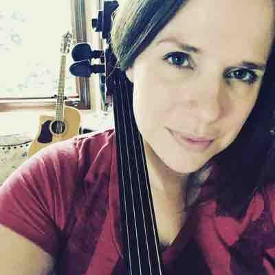 Just hanging out with my friend, the cello. :)