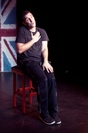 Onstage acting. One Man Show