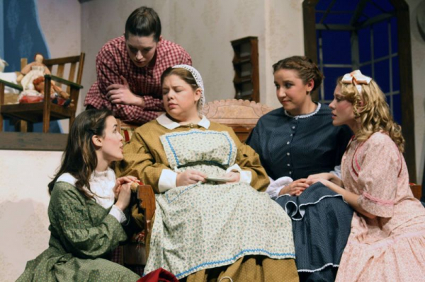 My favorite role with an amazing cast! Marme in Little Women :D