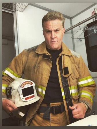 Chris Caldovino as Fire Chief Clemente on the CBS show 'Tommy' starring Edie Falco