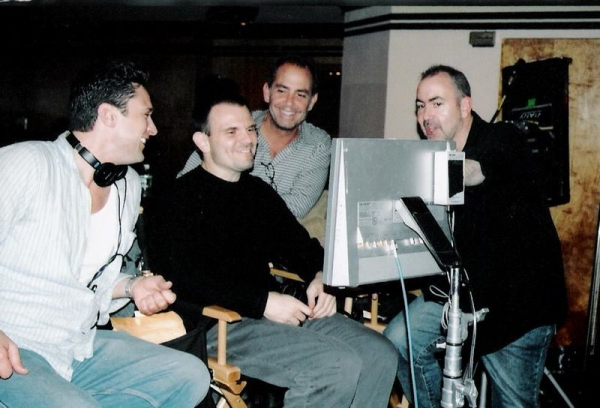 Chris Caldovino BTS of 'Brooklyn Rules' with Michael Corrente, and Terence Winter (2007)