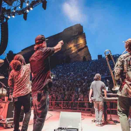 Red Rocks Amphitheatre with Tribal Seeds