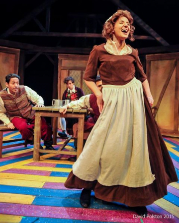 "Tavern Wench in ""She Stoops To Conquer"" (2015) Photographer - David Polston"
