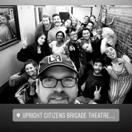 Improv 201 Graduation Show (2019) with the Upright Citizen's Brigade in Los Angeles