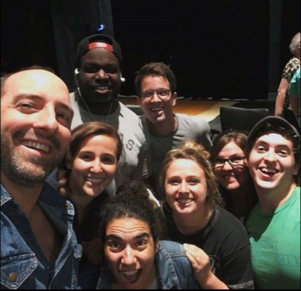 That time when Tony Hale is the guest speaker at your university! (2017)