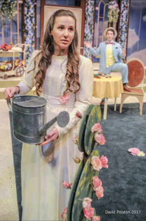 "Miss Cecily Cardew in ""The Importance of Being Earnest"" (2017) Photographer - David Polston"