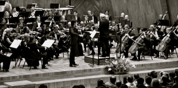 with the Mexico Philharmonic