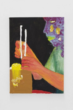 """""""Popcorn Disassociation"""" featured at Hotel Art Pavilion, Brooklyn, NYC, 2017, Curated by Tim Gentles"""