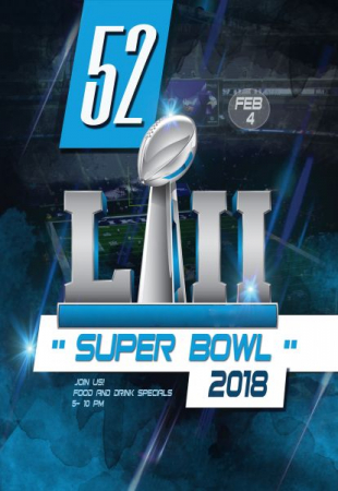 Super Bowl Poster Design - Adobe Photoshop
