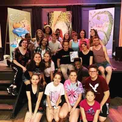 "Cast of ""Into the Woods"" with Seth Rudetsky- Greenwood Lake Theatre, 2019"