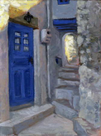 Village passageway from a visit to Greece
