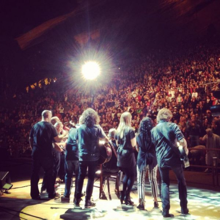 Red Rocks Denver CO with Jason Mraz